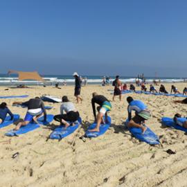 Gal Yam surf club - גל ים מועדון גלישה