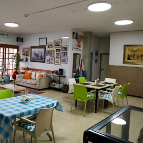 living room - David hostel - חדר אורחים - אכסניית דוד