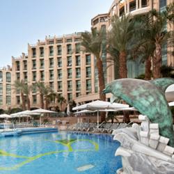 מלון מלכת שבא - בריכה - Queen of Sheba Hotel - Pool