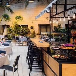 חדר אוכל - מלון פרימה פארק - Dining Room - Prima Park Hote