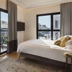 חדר דלוקס - מלון ג'ייקוב סמואל - Deluxe Room -  Jacob Samuel Hotel