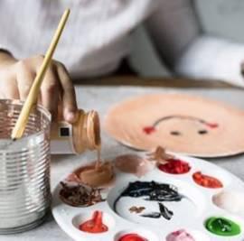 Big Art for Little Artists - An art workshop for children - אמנות גדולה לקטנטנים