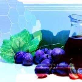 Printed Grapes And Cells - ענבים מודפסים ותאים