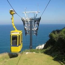 Rosh Hanikra Funicular - רכבל ראש הנקרה