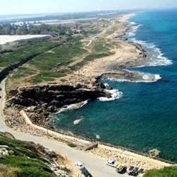 Rosh Hanikra coast- חוף ראש הנקרה