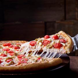 A Delicious Domino's Pizza - פיצת דומינוס עסיסית