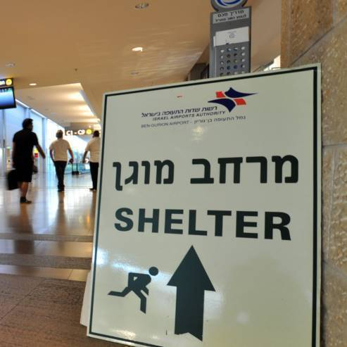 Shelters in Eilat - מקלטים באילת