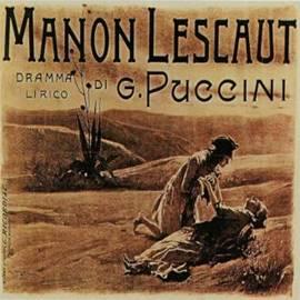 "Manon Opera Poster - כרזה לאופרה ""מנון"""