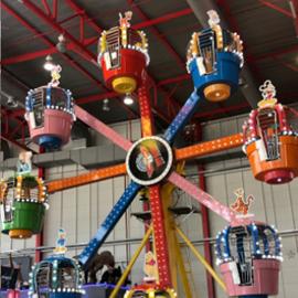 גלגל ענק צבעוני - Colorful Rollercoaster