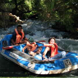 Kayaks In Dag Al HaDan - קיאקים בדג על הדן