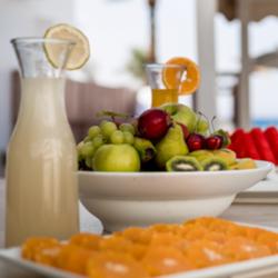 מלון אסטרל מאריס: ארוחת בריאות -  Hotel Astral Maris: Healthy Meal