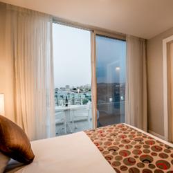 מלון אסטרל מאריס: חדר עם נוף לים  -  Hotel Astral Maris: Bedroom With Sea view
