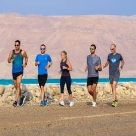 רצים בים המלח - Runners At The Dead Sea