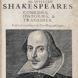 המחזאי והמשורר וויליאם שייקספיר - Playwright And Poet William Shakespeare
