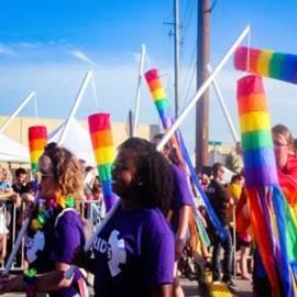 מסיבה של הקהילה הגאה תחת כיפת השמיים - Open Air LGBT Party