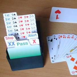 קלפים למשחק ברידג' -  Bridge Game Cards
