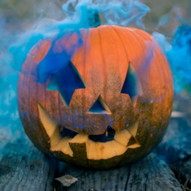 פרצוף דלעת מגולף - Carved Pumpkin Face