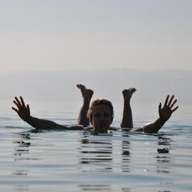 חוף מלון דיוויד - ים המלח - David Hotel Beach - Dead Sea
