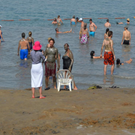 חמי מזור - ים המלח - Mazor Springs - Dead Sea