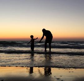 חוף בת גלים - חיפה - Bat Galim Beach - Haifa