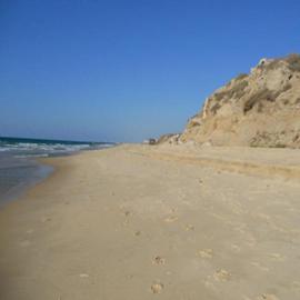 חוף הפארק הלאומי באשקלון - Ashkelon National Park Beach