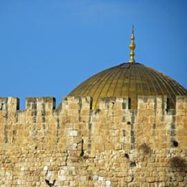 מסגד אל-אקצה בעיר העתיקה בירושלים - Al-Aqsa Mosque In The Old City Of Jerusalem