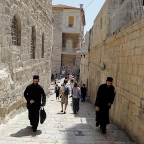 סמטה בעיר העתיקה בירושלים - An Alley In The Old City of Jerusalem