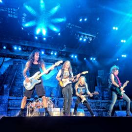 """להקת """"איירון מיידן"""" בהופעה - The band """"Iron Maiden"""" In Concert"""