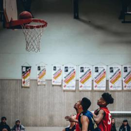 שחקנים במשחק כדורסל - Players In A Basketball Game