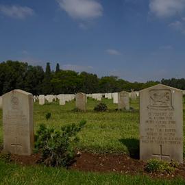 בית הקברות הבריטי - British Military Cemetery