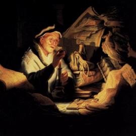 ציור של רמברנדט, 'משל העשיר' -  A Painting By Rembrandt 'Parable Of The Rich'
