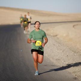 אישה בריצה - A Woman Running