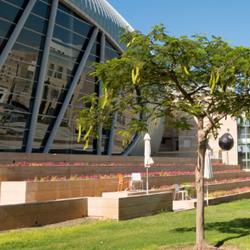 Ashkelon Convention Center outside view - מרכז כנסים אשקלון מבט מבחוץ