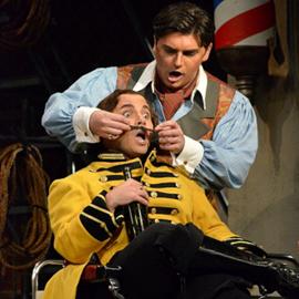 """סצינה מהאופרה """"הספר מסביליה"""" - A Scene From The Opera """"The Barber Of Seville"""""""