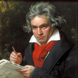 המלחין לודוויג ואן בטהובן - Composer Ludwig van Beethoven