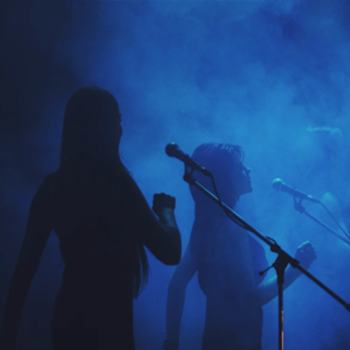 זמרים על הבמה - Singers On Stage