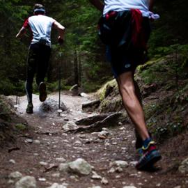 רצים במעלה ההר - Runners On A Mountain Slope