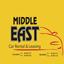 לוגו מזרח התיכון השכרת רכב - Middle East Car Rental Logo