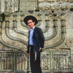 Hanukkiah in Jerusalem - חנוכיה בירושלים