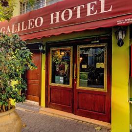 GALILEO Hotel - entrance - מלון גלילאו, הכניסה