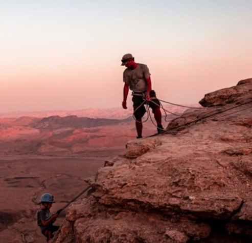 Picture of Mitzpe Ramon, Israel's 'Grand Canyon,' Is From Another World