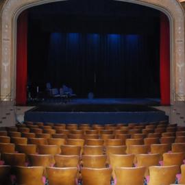 אולם תיאטרון ובמה - A Theater Hall And Stage