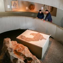בית יגאל אלון - מבט מבפנים - Yigal Alon Museum - inside view