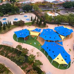 פארק כפר סבא - מבט כללי מלמעלה - Kfar Saba Park - general aerial view