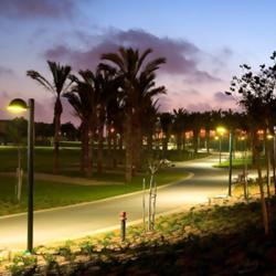 פארק כפר סבא - הפארק בלילה - Kfar Saba Park - the park at night