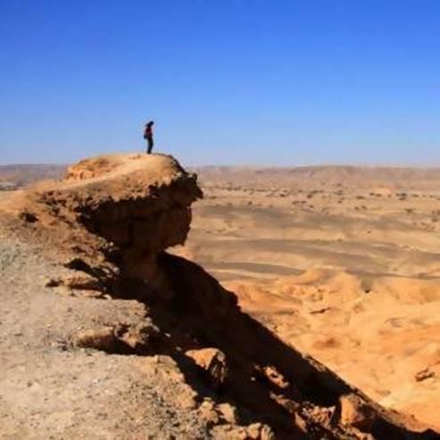Hatzeva Hill - general view - גבעת חצבה - מבט כללי
