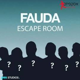 Fauda Escape Room poster - פוסטר אסקייפ רופ פאודה